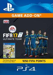 Buy 1050 FIFA 17 Ultimate Team Points UK PS4 CD Key