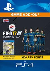 Buy 1600 FIFA 17 Ultimate Team Points UK PS4 CD Key