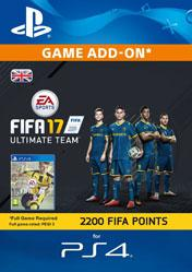 Buy 2200 FIFA 17 Ultimate Team Points UK PS4 CD Key