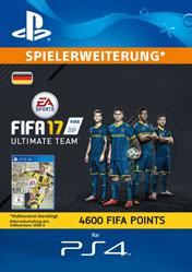 Buy 4600 FIFA 17 Ultimate Team Points DE PS4 CD Key