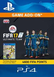 Buy 4600 FIFA 17 Ultimate Team Points UK PS4 CD Key