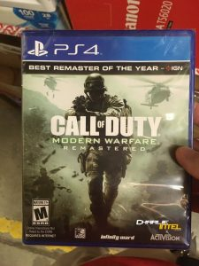A Call of Duty: Modern Warfare Remastered picture with the game as a standalone has been leaked online