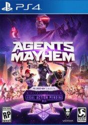 Buy Agents of Mayhem PS4 CD Key