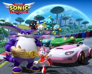 Amy Rose, Big the Cat and Chao are the new characters of Team Sonic Racing