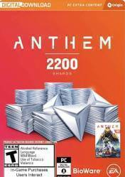 Buy Cheap Anthem 2200 Shards PC CD Key