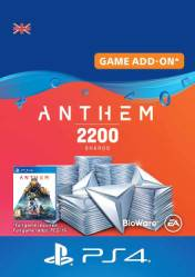 Buy Anthem 2200 Shards PS4 CD Key
