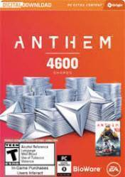 Buy Anthem 4600 Shards pc cd key for Origin