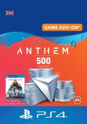 Buy Anthem 500 Shards PS4 CD Key