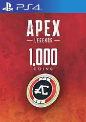 Buy Cheap Apex Legends 1000 Apex Coins PS4 CD Key