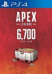 Buy Cheap Apex Legends 6700 Apex Coins PS4 CD Key