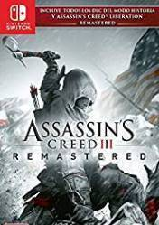 Buy Cheap Assassins Creed III Remastered NINTENDO SWITCH CD Key