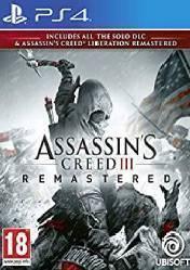 Buy Cheap Assassins Creed III Remastered PS4 CD Key