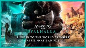 Assassin's Creed Valhalla: Ubisoft confirms the new game and will unveils its first trailer today at 5pm (8 a.m. PT)