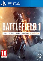Buy Battlefield 1 Early Enlister Deluxe Edition PS4 CD Key