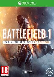Buy Battlefield 1 Early Enlister Deluxe Edition XBOX ONE CD Key