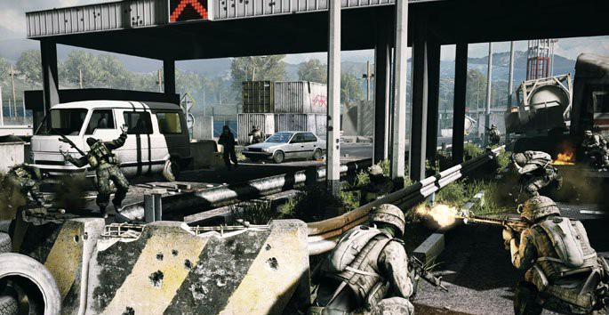 Battlefield 3 PC Screenshot