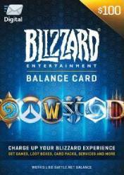 Buy Cheap Battlenet 100 USD Gift Card (US) PC CD Key