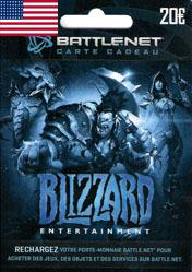 Buy Cheap Battlenet 20 USD Gift Card (US) Cd Key PC CD Key