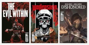 Bethesda will release comics for Wolfenstein, Dishonored and The Evil Within