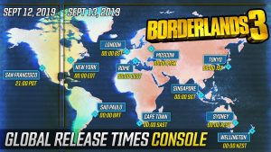 Borderlands 3 players will be able to preload the game 48 hours before the release date