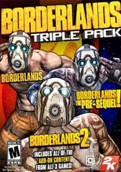 Buy Borderlands Triple Pack PC CD Key