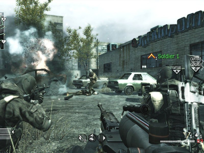 Call of Duty 4 Modern Warfare PC Screenshot