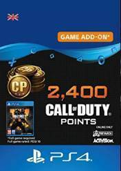 Buy Call of Duty Black Ops 4 2400 CoD Points PS4