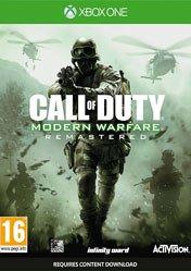 Buy Cheap Call of Duty Modern Warfare Remastered XBOX ONE CD Key