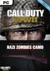 Buy CALL OF DUTY WW2 (COD WWII) Nazi Zombies Camo DLC PC CD Key