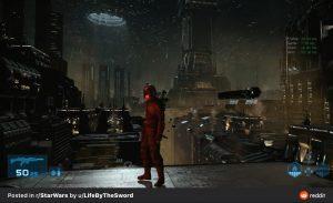 "Cancelled game ""Star Wars 1313"" leaked screenshot"