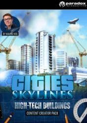 Buy Cities Skylines Content Creator Pack High Tech Buildings pc cd key for Steam