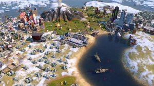 Civilization VI: Gathering Storm presents Canada