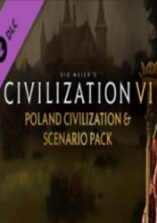 Buy Cheap Civilization VI Poland Civilization and Scenario Pack PC CD Key