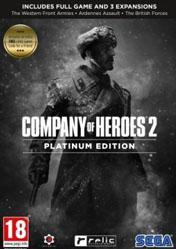Buy Company of Heroes 2 Platinum Edition PC CD Key