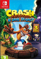 Buy Cheap Crash Bandicoot N. Sane Trilogy NINTENDO SWITCH CD Key