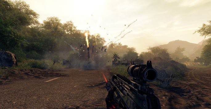 Crysis Warhead PC Screenshot