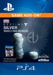 Buy Destiny Silver 1000 PS4 CD Key
