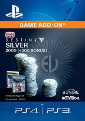 Buy Destiny Silver 2000 PS4 CD Key