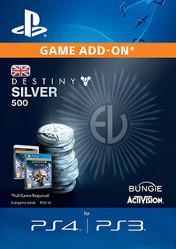 Buy Destiny Silver 500 PS4 CD Key