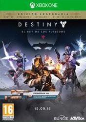 Buy Destiny The Taken King Legendary Edition XBOX ONE CD Key