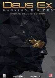 Buy Deus Ex Mankind Divided Digital Deluxe Edition PC CD Key