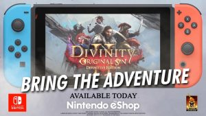 Divinity Original Sin 2 is available on Switch with Steam cross-save