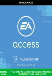 Buy EA ACCESS 12 MONTH SUBSCRIPTION pc cd key for Origin