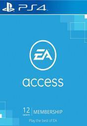 Buy Cheap EA ACCESS 12 MONTH SUBSCRIPTION PS4 CD Key