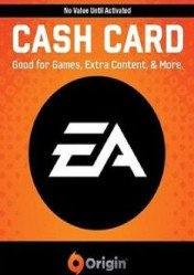 Buy EA ORIGIN CASH CARD 60 EU/US/UK PC CD Key