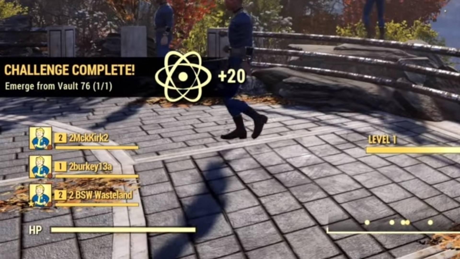 Fallout 76 1100 Atoms