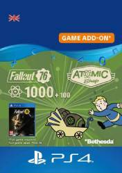 Buy Cheap Fallout 76 1100 Atoms PS4 CD Key