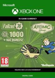Buy Fallout 76 1100 Atoms Xbox One