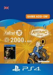 Buy Cheap Fallout 76 2400 Atoms PS4 CD Key