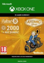 Buy Fallout 76 2400 Atoms XBOX ONE CD Key